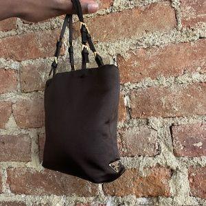 Authentic mini Prada Bag in Dark Brown